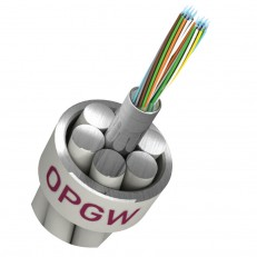 OPGW Central Stainless Steel Loose Tube Type