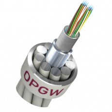 OPGW Al Covered Stainless Steel Loose Tube Type